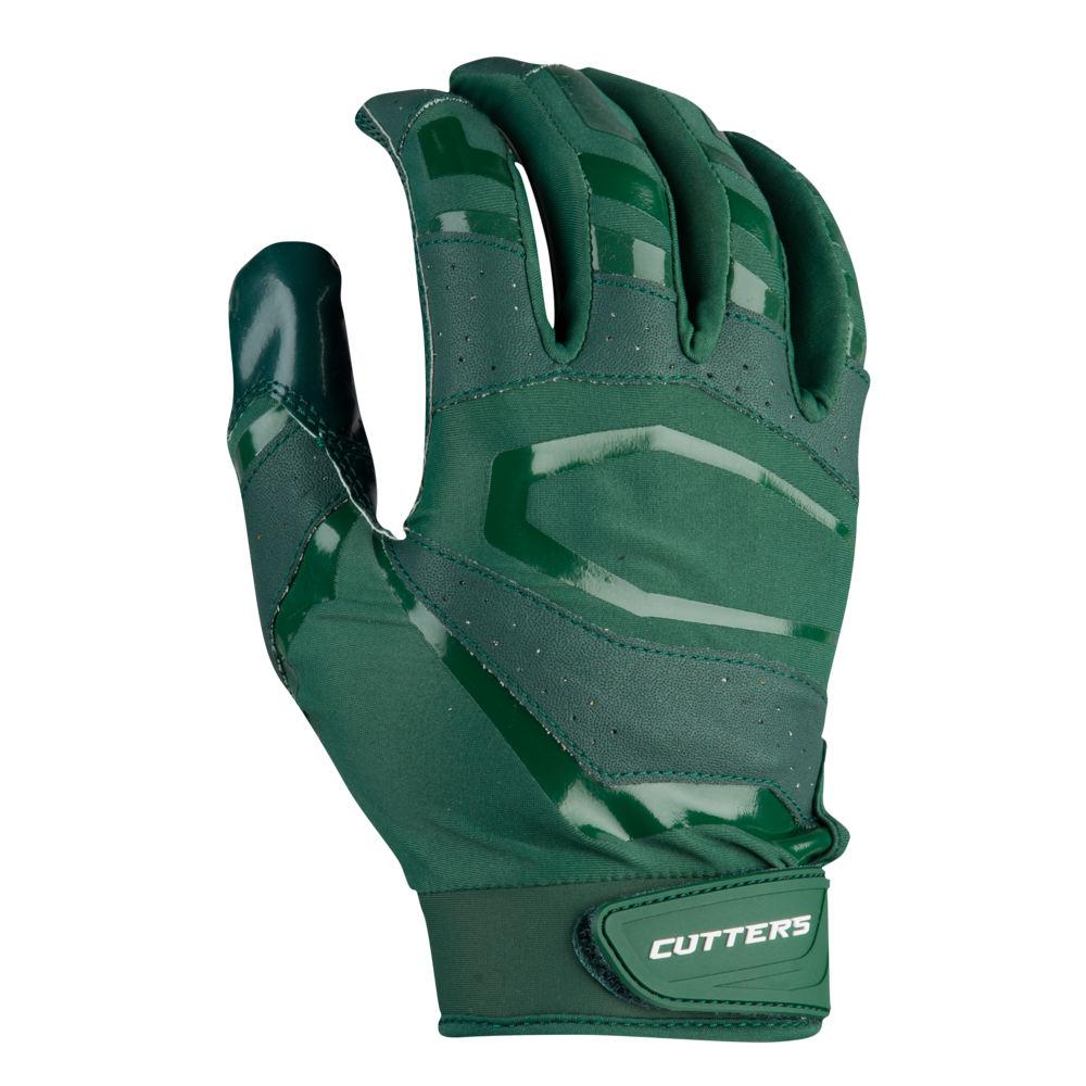 カッターズ Cutters メンズ アメリカンフットボール グローブ【Rev Pro 3.0 Solid Receiver Gloves】Dark Green Exclusive