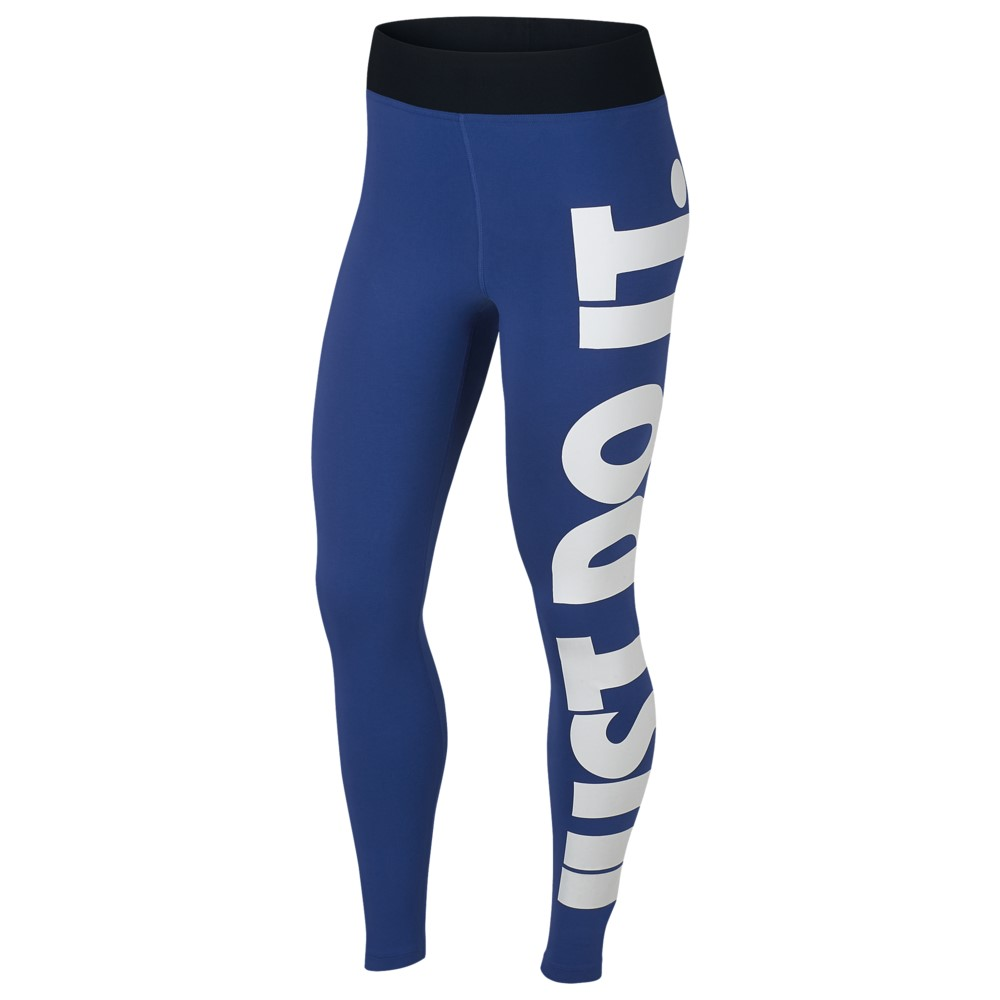 ナイキ Nike レディース インナー・下着 スパッツ・レギンス【JDI High Waisted Leggings】Indigo Force/White