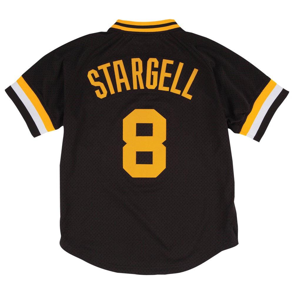 ミッチェル&ネス Mitchell & Ness メンズ トップス【MLB Player BP Jersey】MLB Pittsburgh Pirates Willie Stargell Black