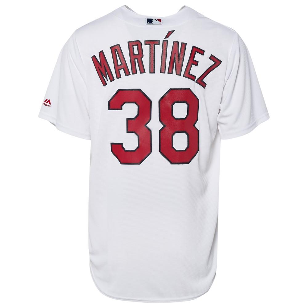 マジェスティック Majestic メンズ トップス【MLB Cool Base Player Jersey】MLB St. Louis Cardinals Jose Martinez White