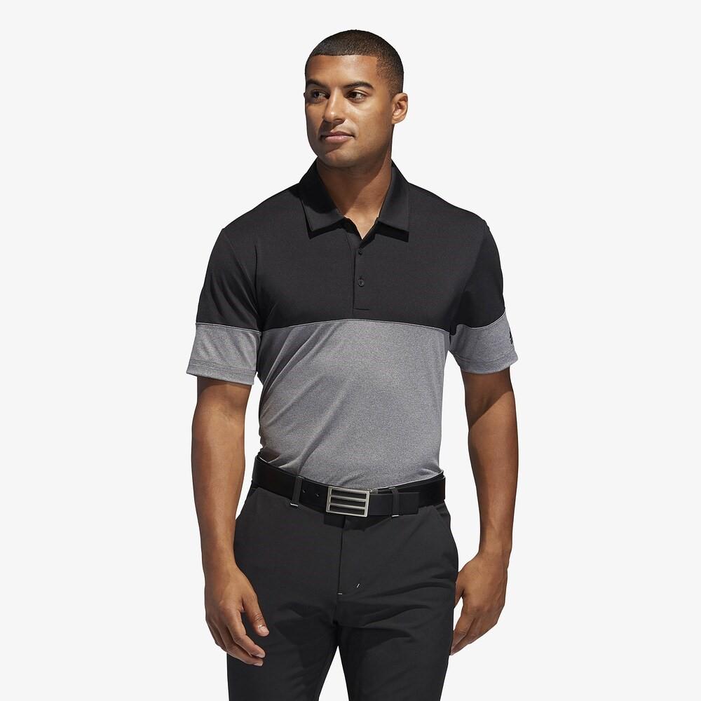 アディダス adidas メンズ adidas ゴルフ アディダス トップス メンズ【Ultimate Heathered Blocked Golf Polo】Grey/Black, ジーナスタイル:1df0f111 --- acessoverde.com