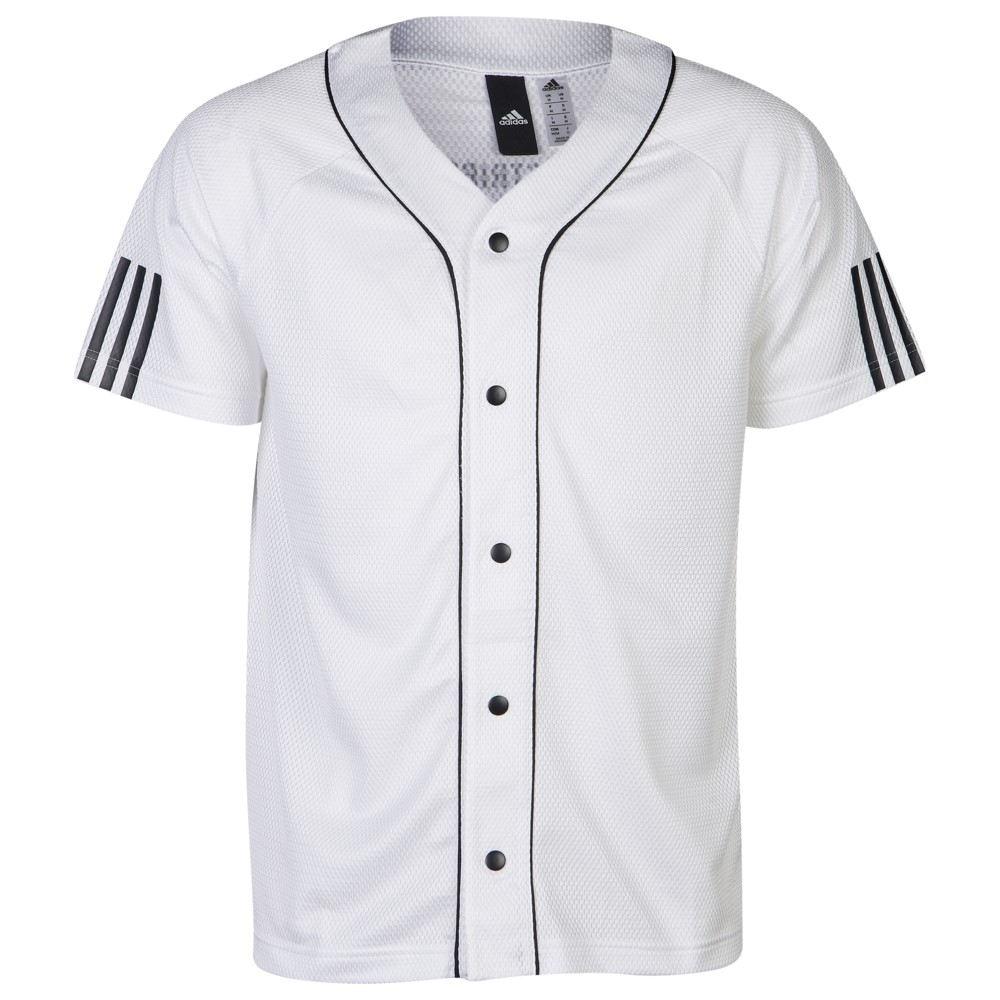 アディダス adidas Athletics メンズ トップス【Sport Jersey】White/Black