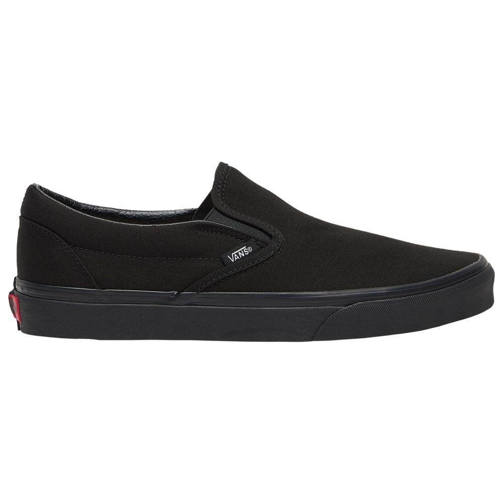 ヴァンズ Vans メンズ スケートボード シューズ・靴【Classic Slip On】Black/Black