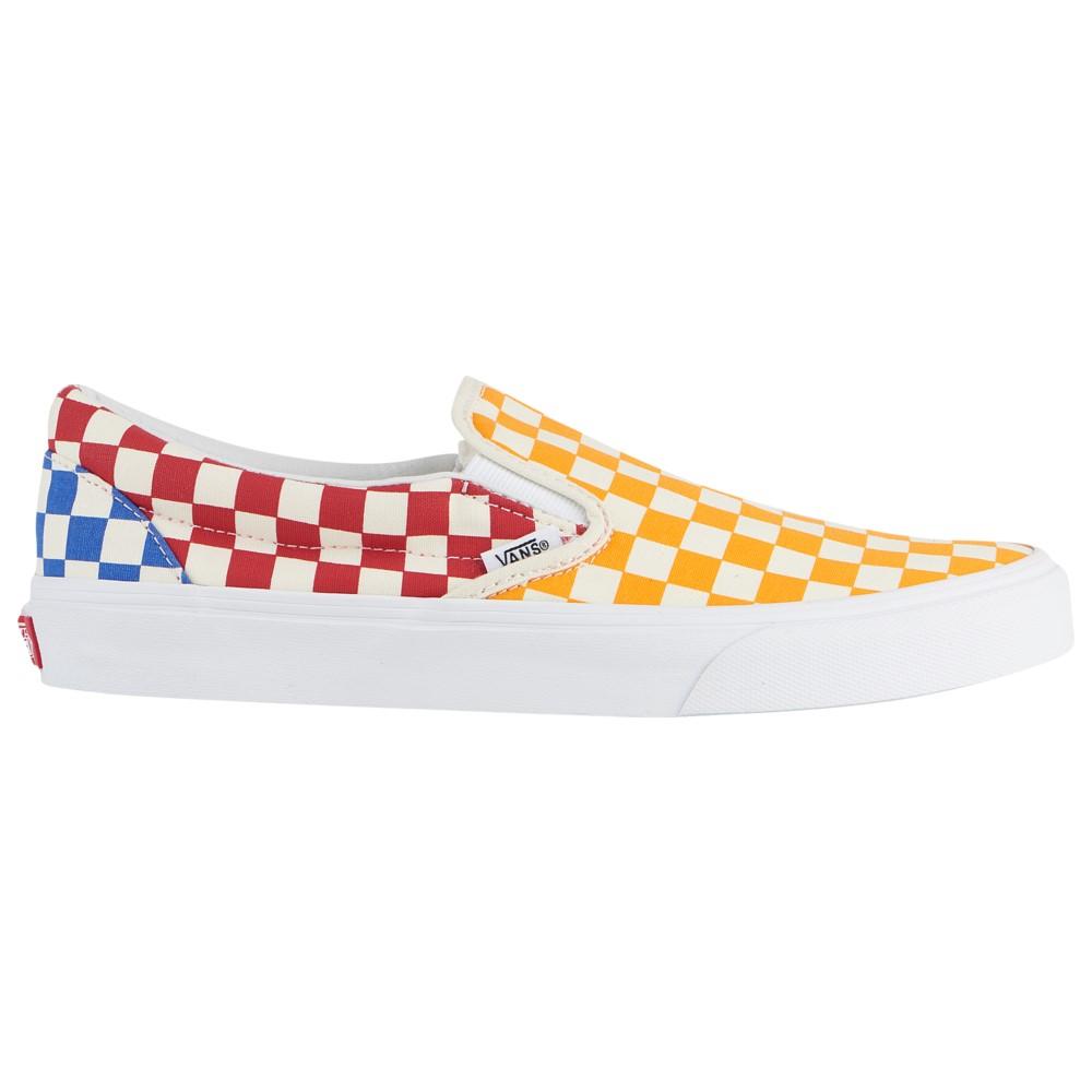 ヴァンズ Vans メンズ スケートボード シューズ・靴【Classic Slip On】Multi Color/True White