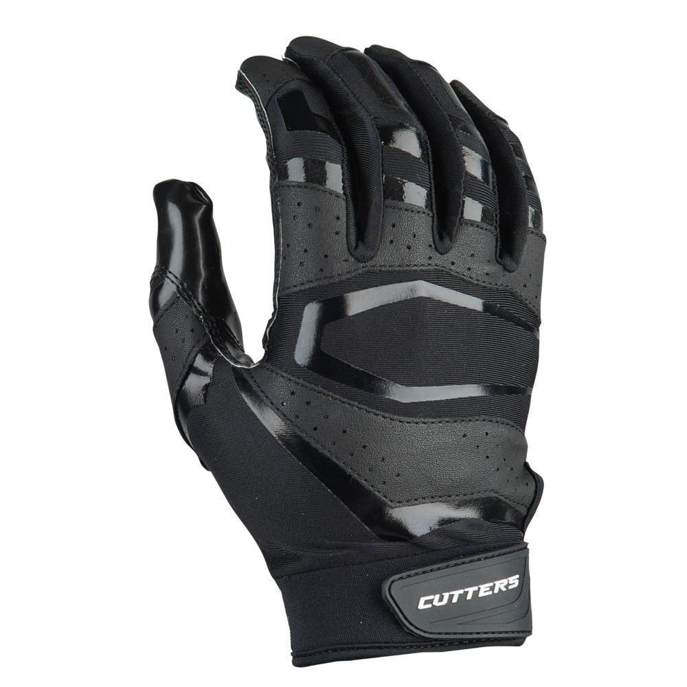 カッターズ Cutters メンズ アメリカンフットボール グローブ【Rev Pro 3.0 Solid Receiver Gloves】Black