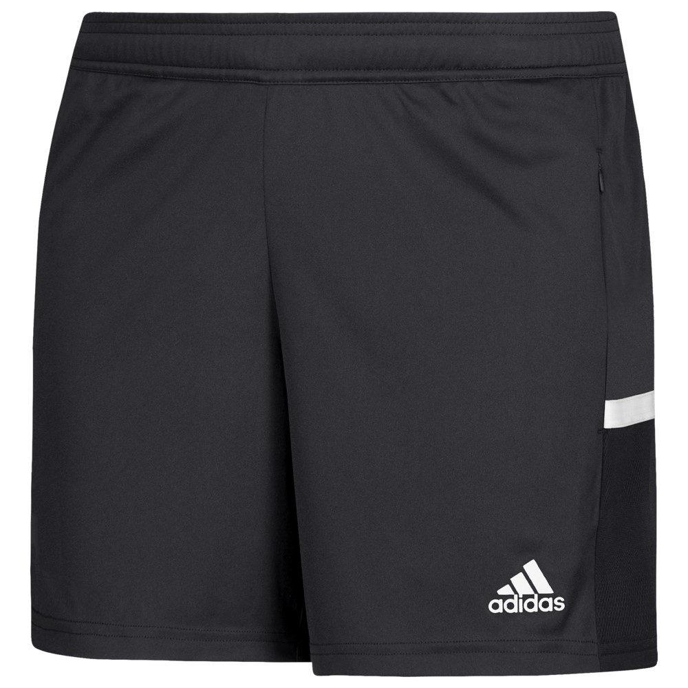 アディダス adidas レディース フィットネス・トレーニング ボトムス・パンツ【Team 19 3 Pocket Shorts】Black/White, 奈良県 97090003