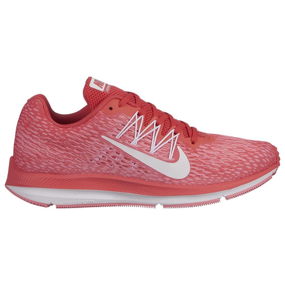 ナイキ Nike レディース ランニング・ウォーキング シューズ・靴【Zoom Winflo 5】Ember Glow/White/Pink Glaze/Bleached Coral