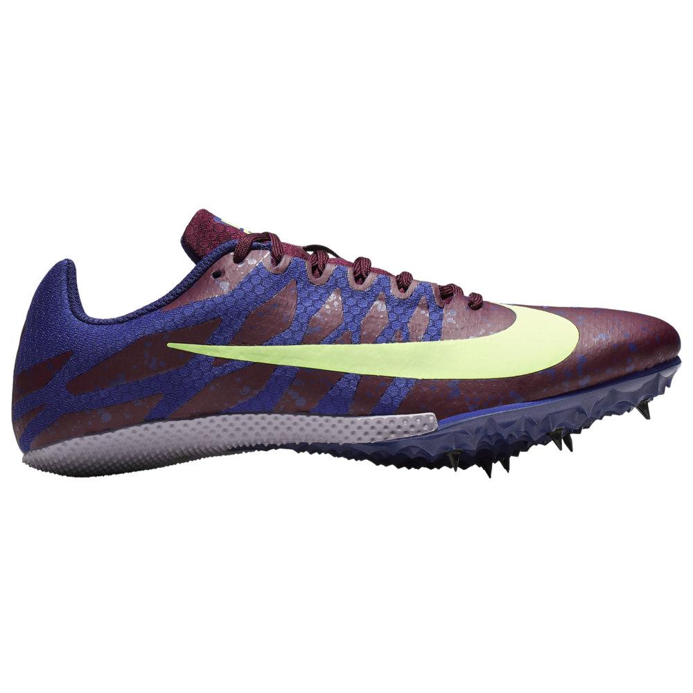 ナイキ Nike レディース 陸上 シューズ・靴【zoom rival s 9】Bordeaux/Lime Blast/Regency Purple/Provence Purple