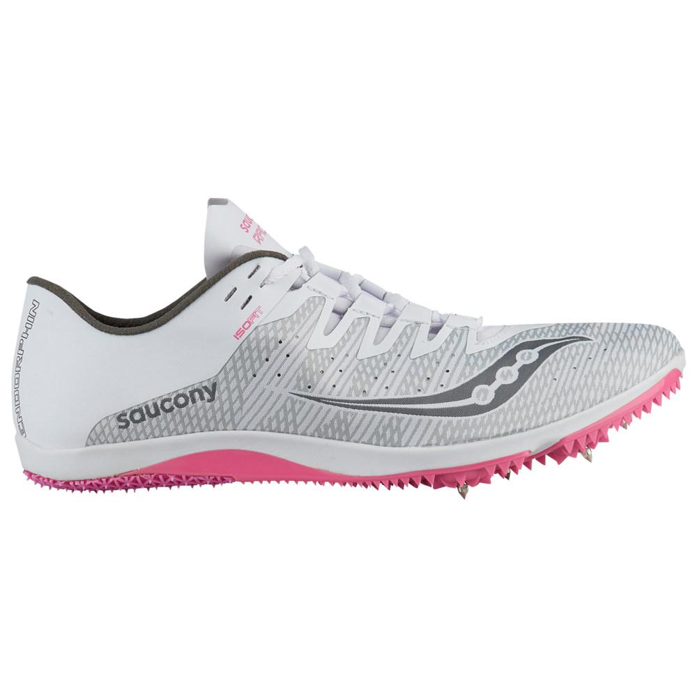 サッカニー Saucony レディース 陸上 シューズ・靴【endorphin 2】White/Pink