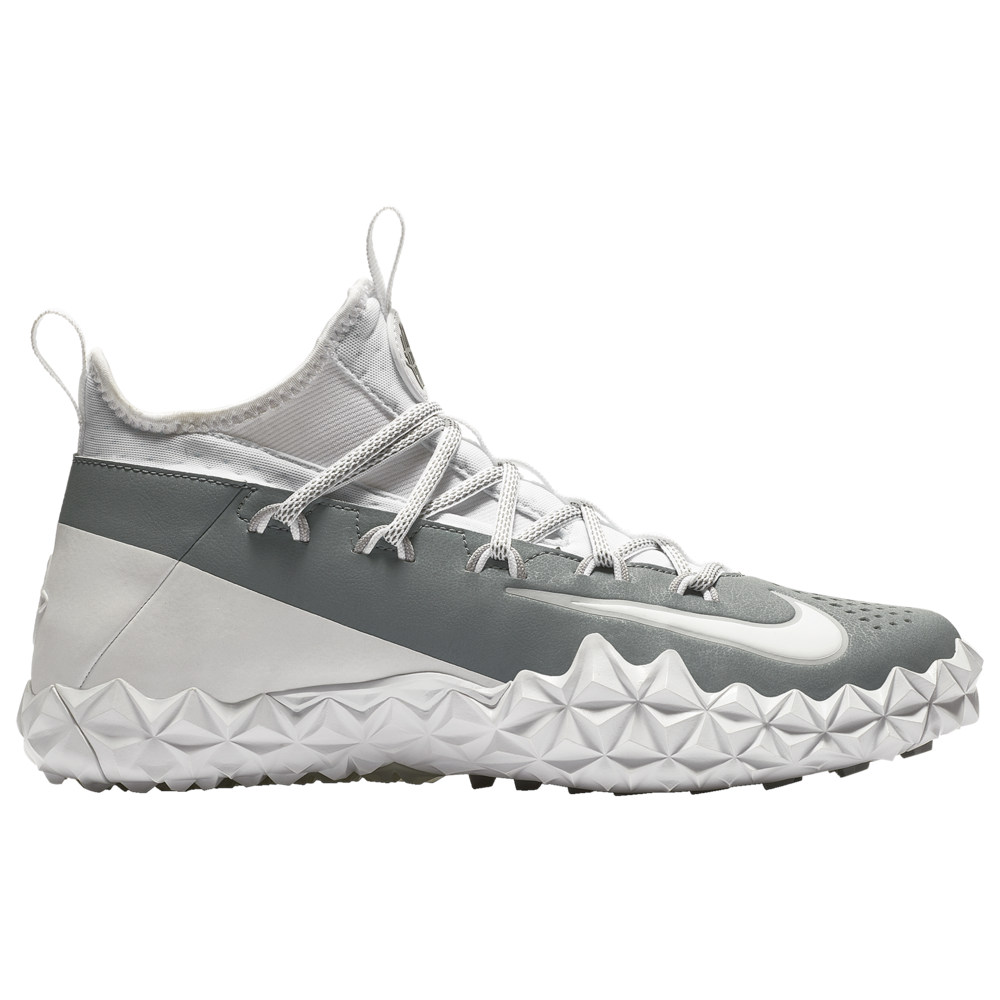 ナイキ Nike メンズ ラクロス シューズ・靴【alpha huarache 6 elite turf lax】White/White/Cool Grey/Wolf Grey