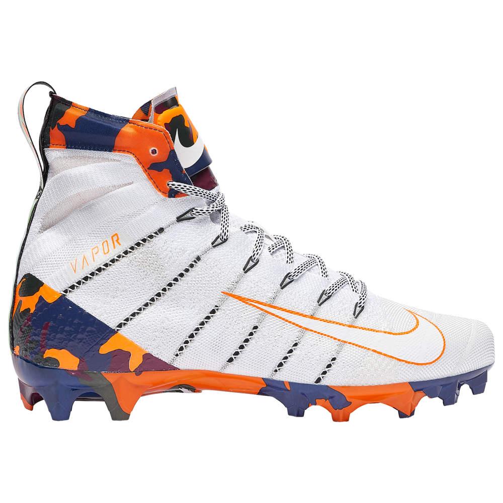 ナイキ Nike メンズ アメリカンフットボール シューズ・靴【vapor untouchable 3 elite】White/Black/Bright Orange