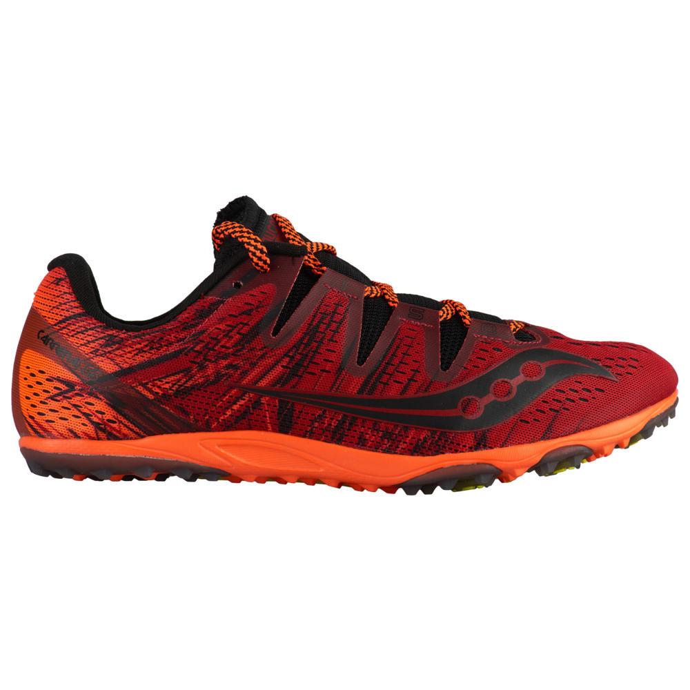 サッカニー Saucony メンズ 陸上 シューズ・靴【carrera xc3 flat】Red/Orange