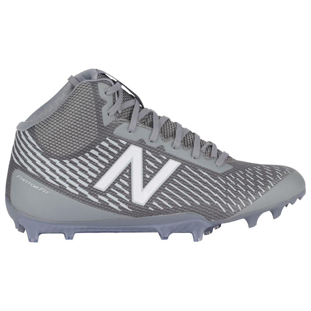 ニューバランス New Balance メンズ ラクロス シューズ・靴【burn x mid】Grey/Grey