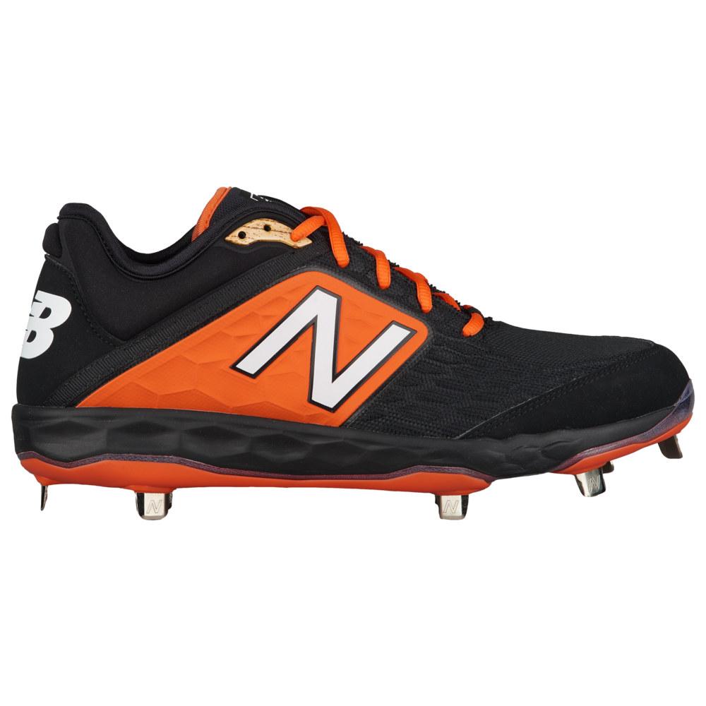 ニューバランス New Balance メンズ 野球 シューズ・靴【3000v4 Metal Low】Black/Orange