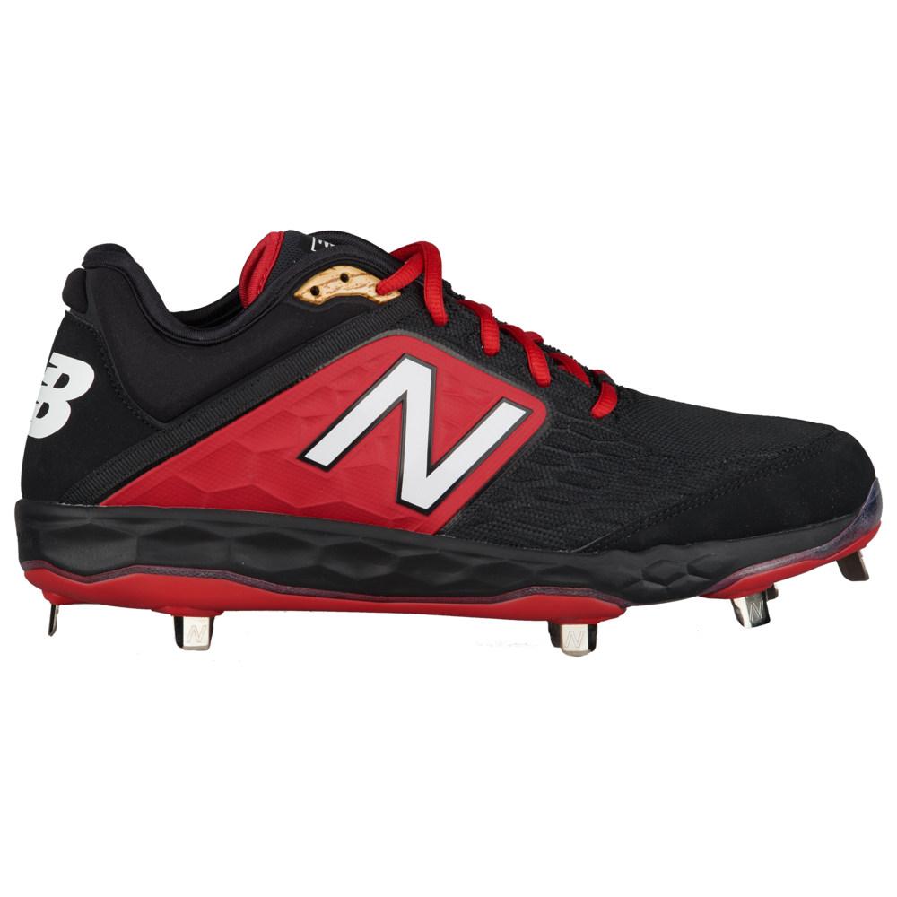 ニューバランス New Balance メンズ 野球 シューズ・靴【3000v4 Metal Low】Black/Red