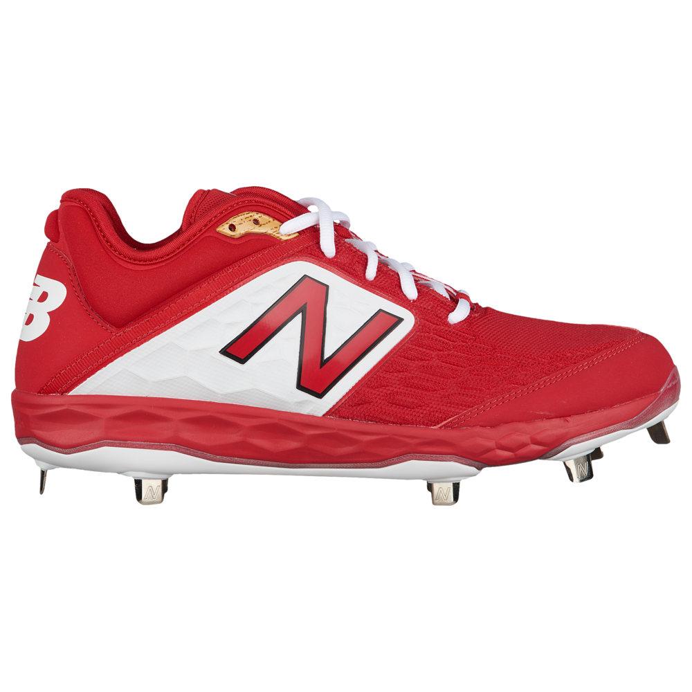 ニューバランス New Balance メンズ 野球 シューズ・靴【3000v4 Metal Low】Red/White