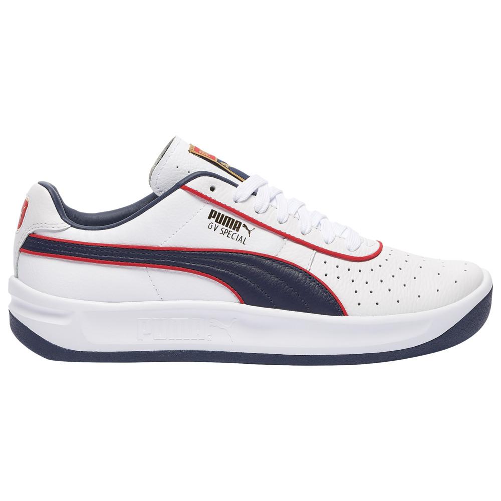 プーマ PUMA メンズ テニス シューズ・靴【gv special +】White/Navy/Red/Gold