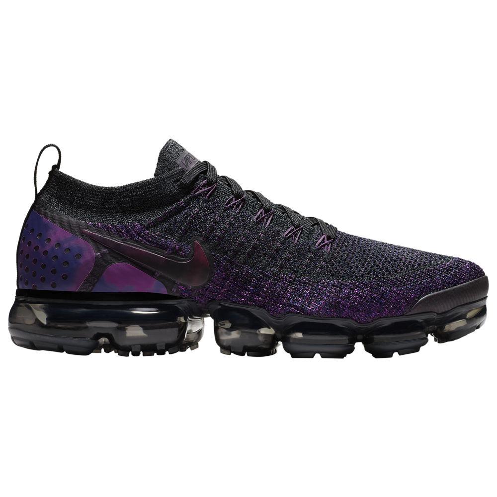 ナイキ Nike メンズ ランニング・ウォーキング シューズ・靴【Air Vapormax Flyknit 2】Black/Night Purple/Vivid Purple/Regency Purple
