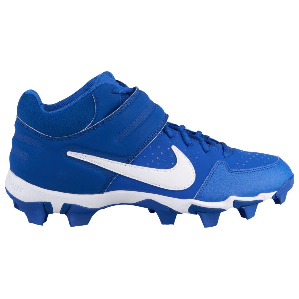 ナイキ Nike メンズ 野球 シューズ・靴【Alpha Huarache Varsity Mid Keystone】Game Royal/White/Gym Blue