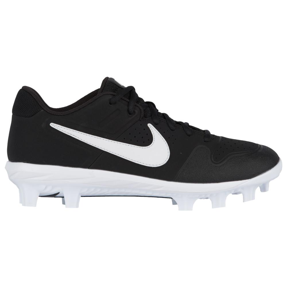 ナイキ Nike メンズ 野球 シューズ・靴【Alpha Huarache Varsity Low MCS】Black/White