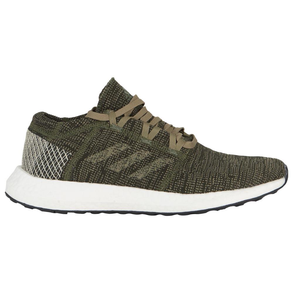 アディダス adidas メンズ ランニング・ウォーキング シューズ・靴【Pureboost Go】Base Green/Trace Cargo/Clear Brown