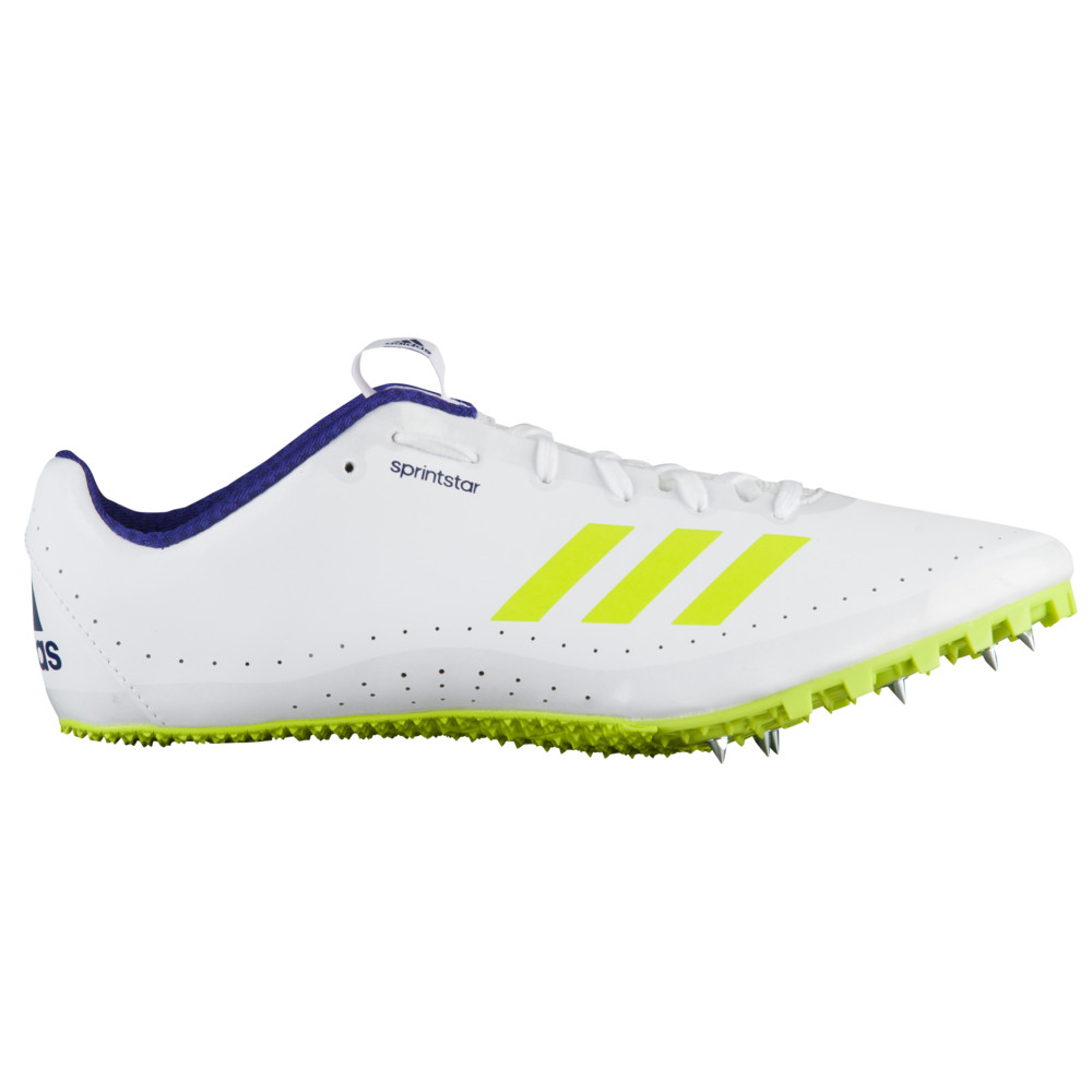 アディダス adidas メンズ 陸上 シューズ・靴【sprintstar】Footwear White/Crystal White/Real Purple