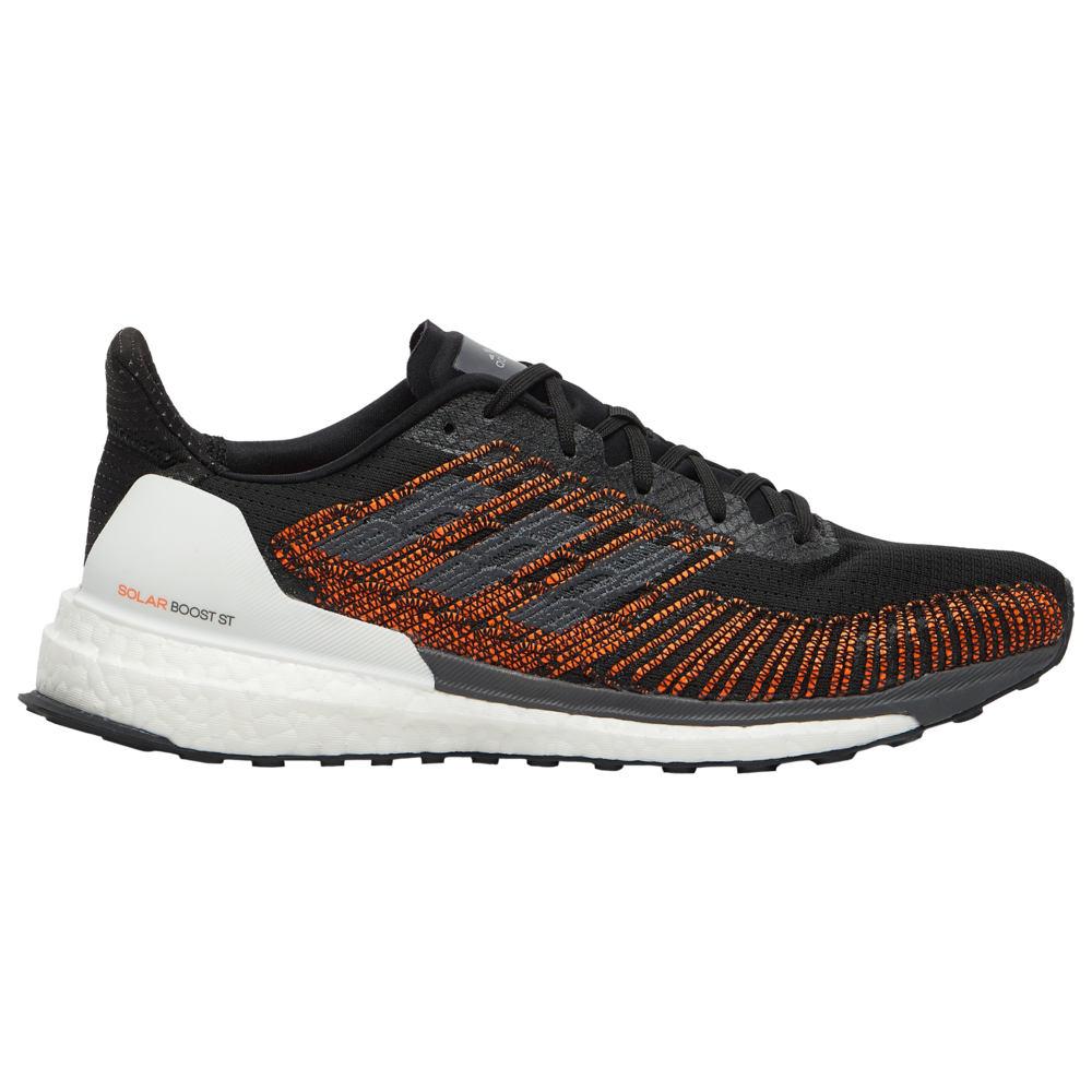 アディダス adidas メンズ ランニング・ウォーキング シューズ・靴【Solar Boost ST 19】Core Black/Grey/Solar Orange
