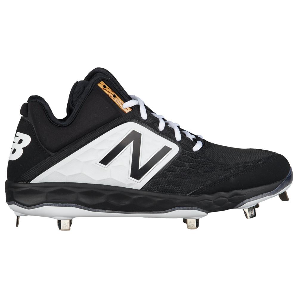 ニューバランス New Balance メンズ 野球 シューズ・靴【3000v4 Metal Mid】Black/Black