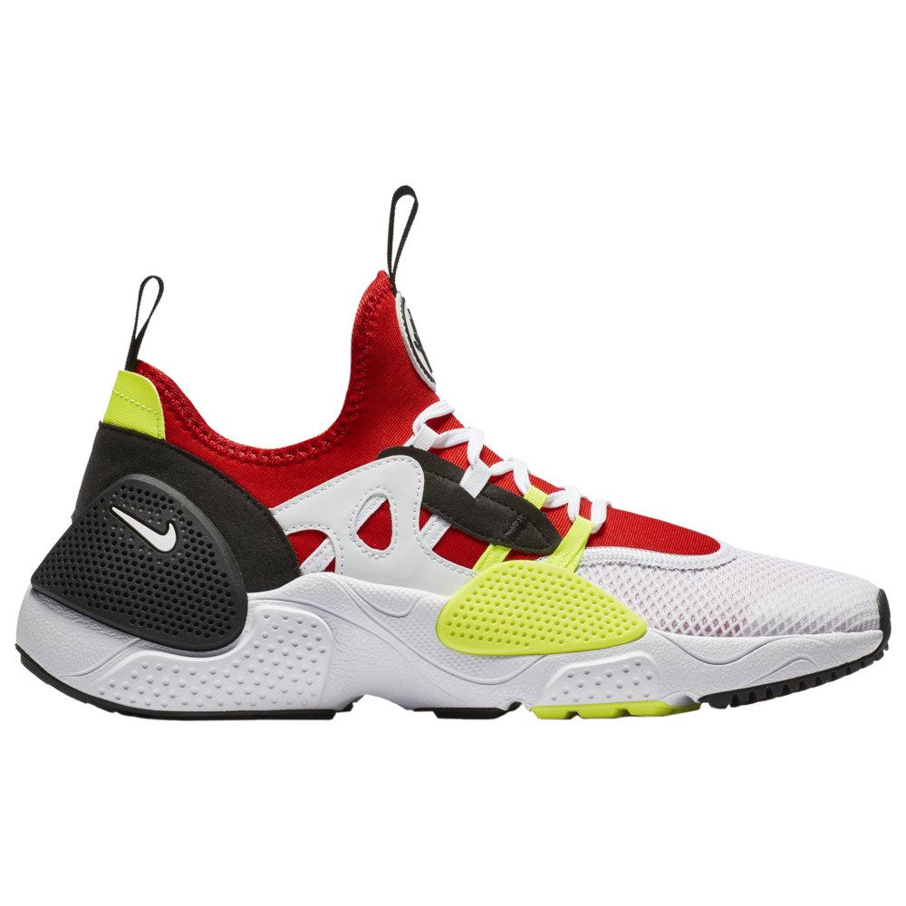 ナイキ Nike メンズ ランニング・ウォーキング シューズ・靴【Huarache E.D.G.E】White/White/University Red/Volt Textile