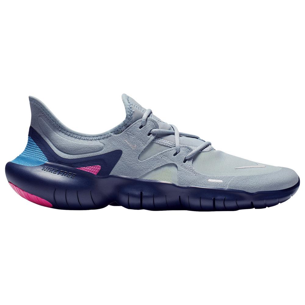 ナイキ Nike メンズ ランニング・ウォーキング シューズ・靴【Free RN 5.0】Obsidian Mist/Metallic Silver/Midnight Navy/Volt