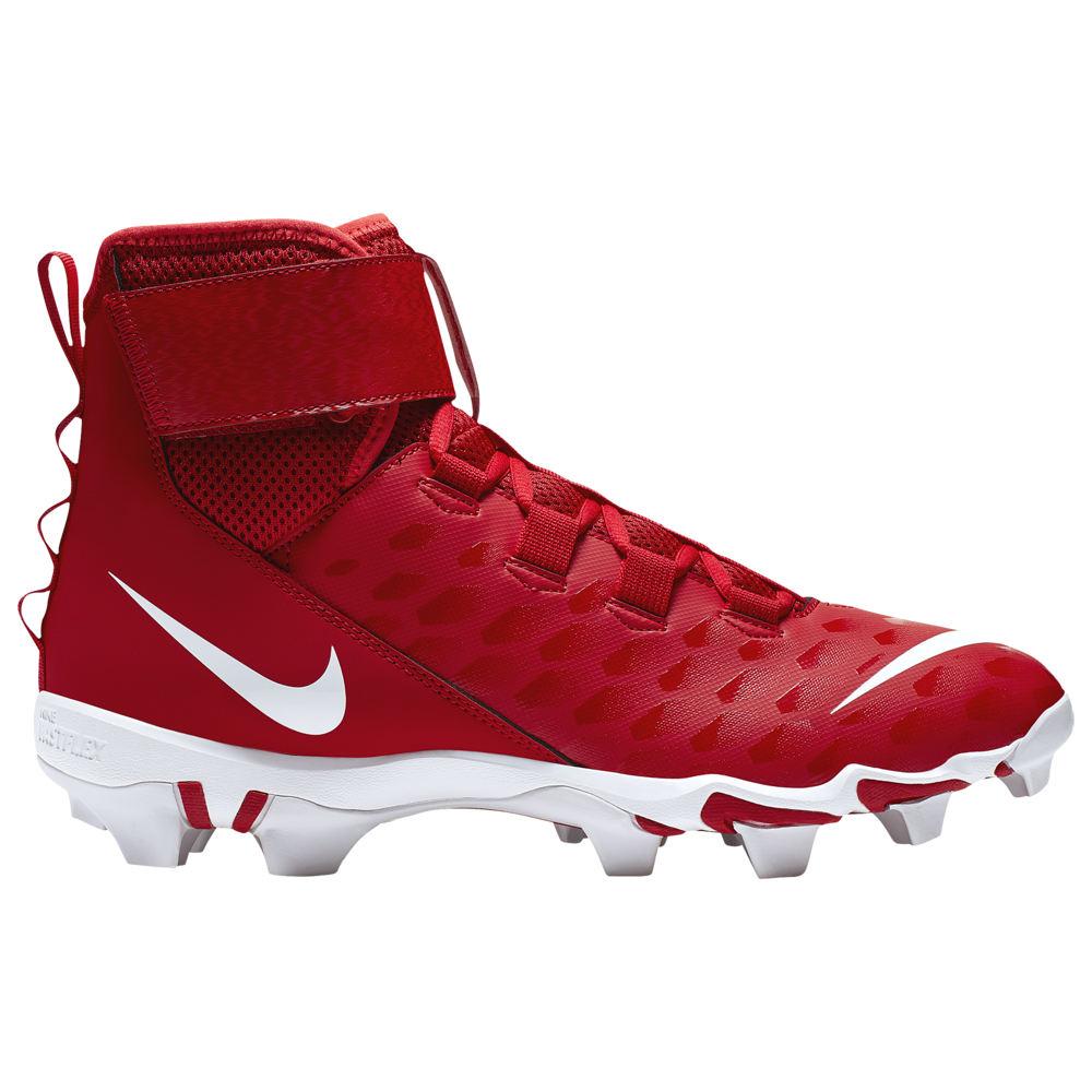 ナイキ Nike メンズ アメリカンフットボール シューズ・靴【force savage 2 shark】University Red/White/Bright Crimson
