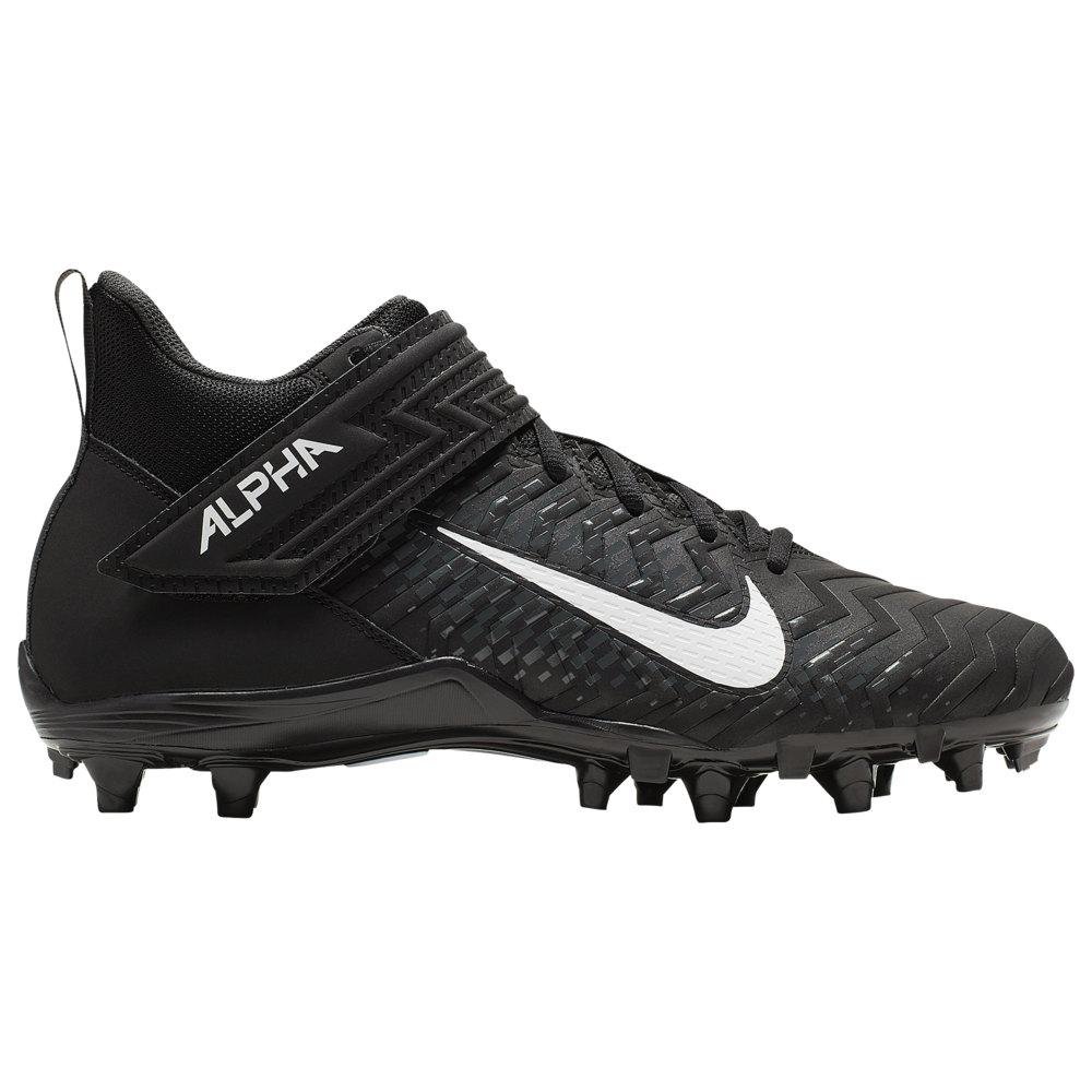 ナイキ Nike メンズ アメリカンフットボール シューズ・靴【alpha menace varsity 2】Black/White/Anthracite