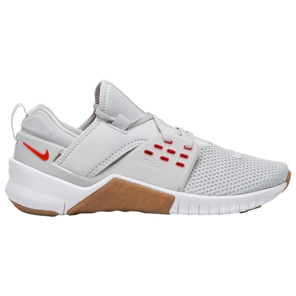 ナイキ Nike メンズ フィットネス・トレーニング シューズ・靴【Free X Metcon 2】Pure Platinum/Habenero Red Americana
