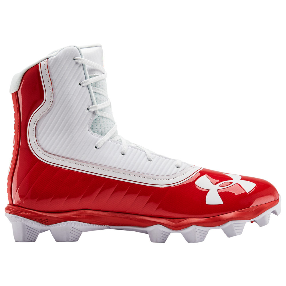 アンダーアーマー Under Armour メンズ アメリカンフットボール シューズ・靴【highlight rm】Red/White