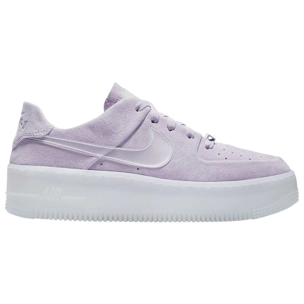 ナイキ Nike レディース ランニング・ウォーキング シューズ・靴【Air Force 1 Sage Low LX】Violet Mist