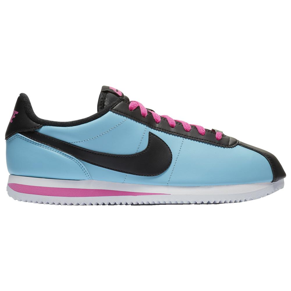 ナイキ Nike メンズ ランニング・ウォーキング シューズ・靴【Cortez】Blue Gale/Black/Laser Fuchsia Leather