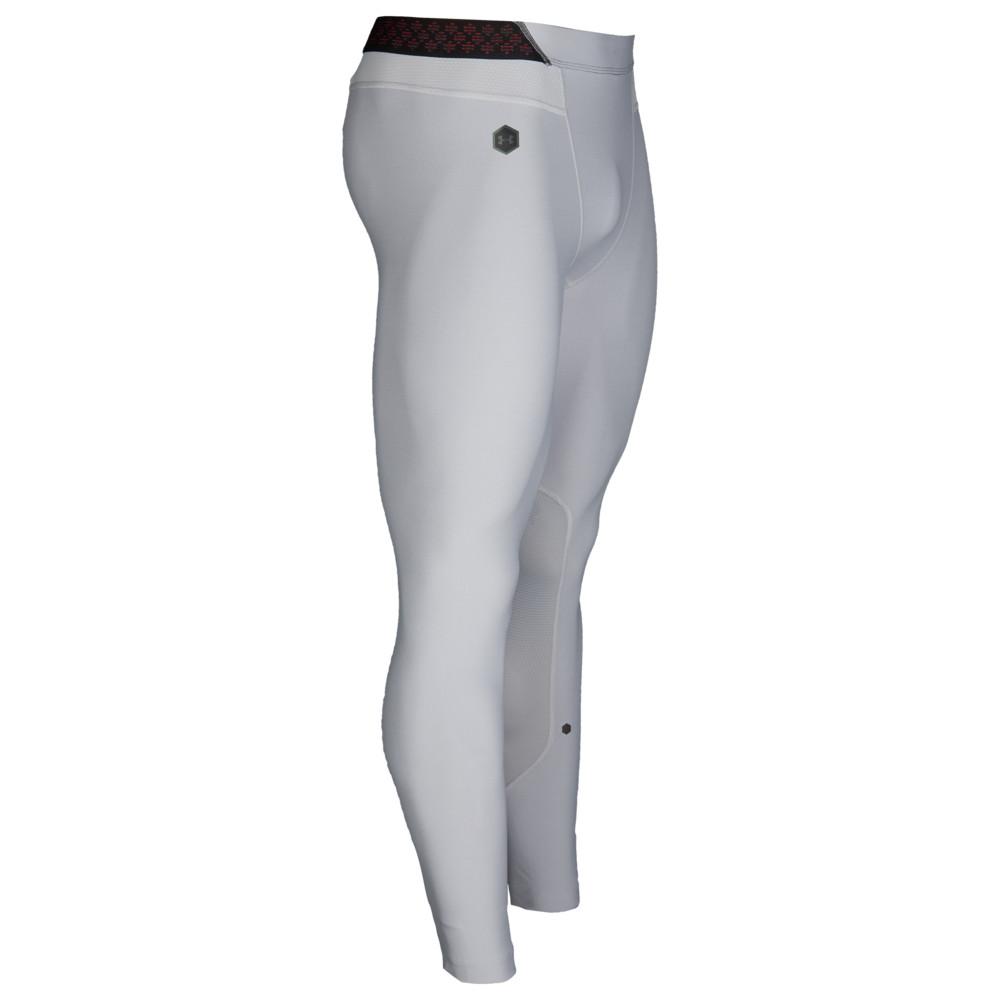 アンダーアーマー Under Armour メンズ フィットネス・トレーニング ボトムス・パンツ【Rush Compression Leggings】Mod Grey/Black