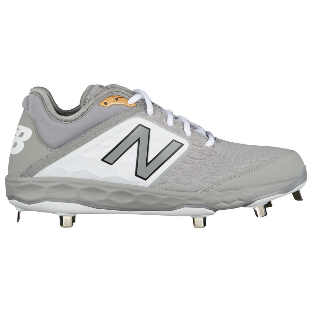 ニューバランス New Balance メンズ 野球 シューズ・靴【3000v4 Metal Low】Grey/White