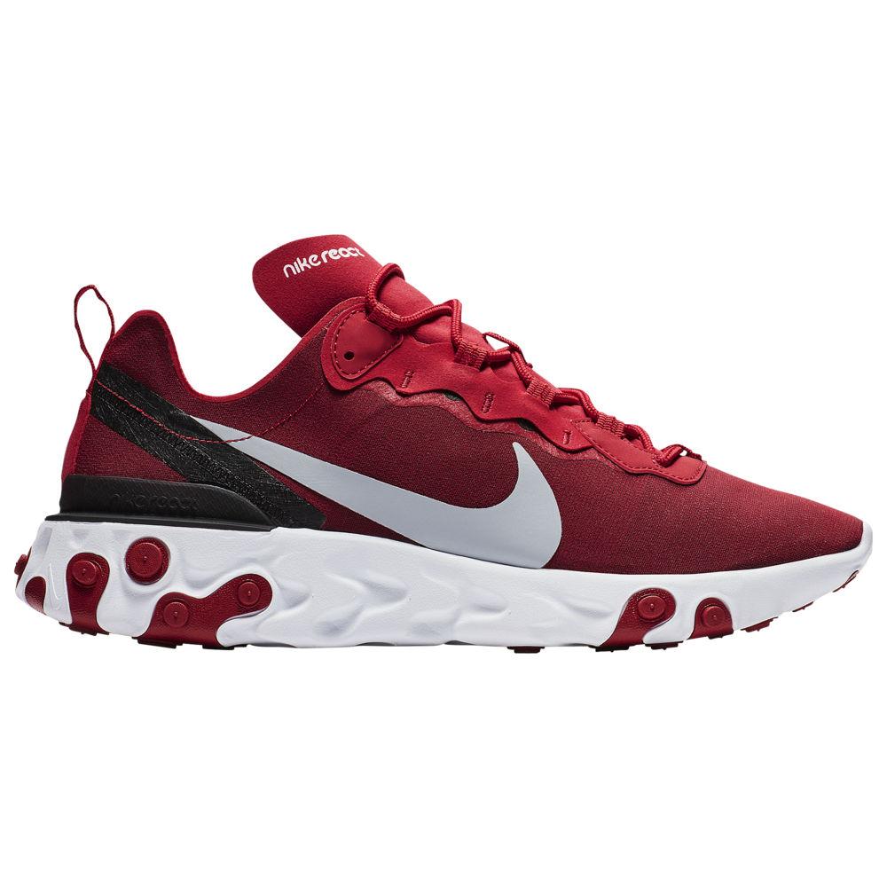 ナイキ Nike メンズ ランニング・ウォーキング シューズ・靴【React Element 55】Gym Red/Wolf Grey/White/Black