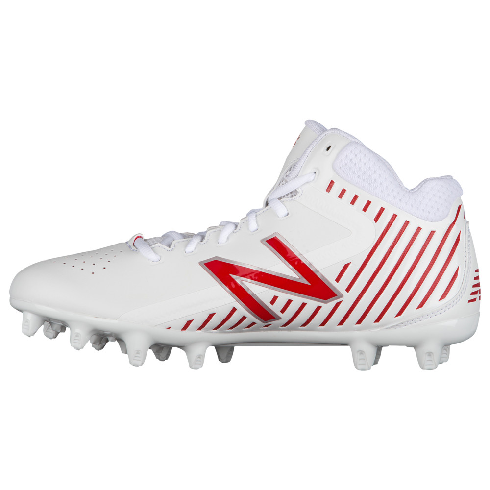 ニューバランス New Balance メンズ ラクロス シューズ・靴【rush mid】White/Red
