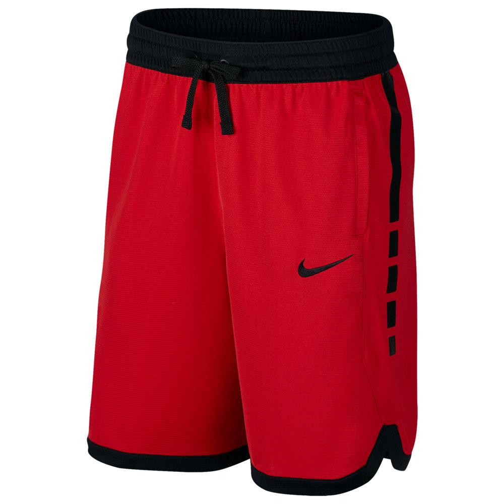 ナイキ Nike メンズ バスケットボール ボトムス・パンツ【Elite Stripe Shorts】University Red/Black