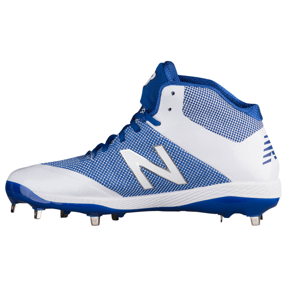 ニューバランス New Balance メンズ 野球 シューズ・靴【4040v4 Metal Mid】Royal/White