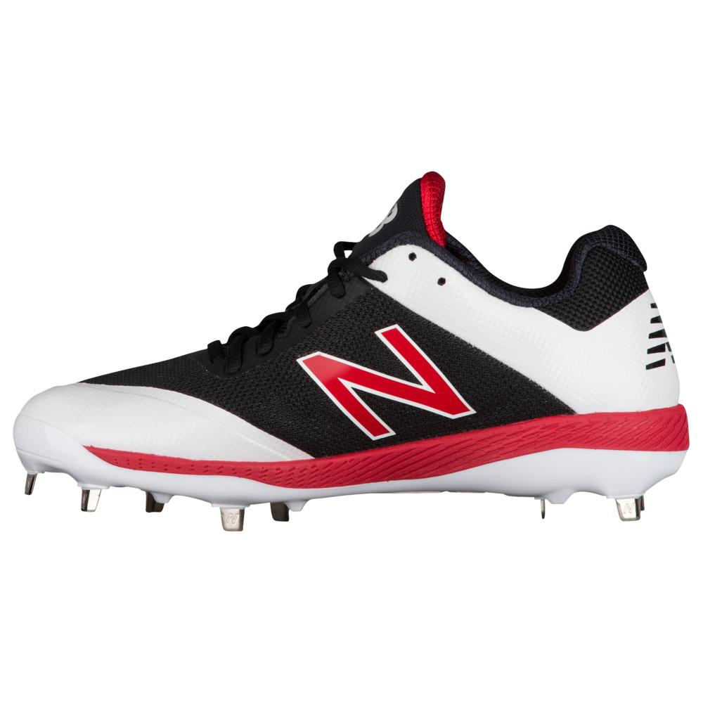 ニューバランス New Balance メンズ 野球 シューズ・靴【4040V4 Metal Low】Black/Red