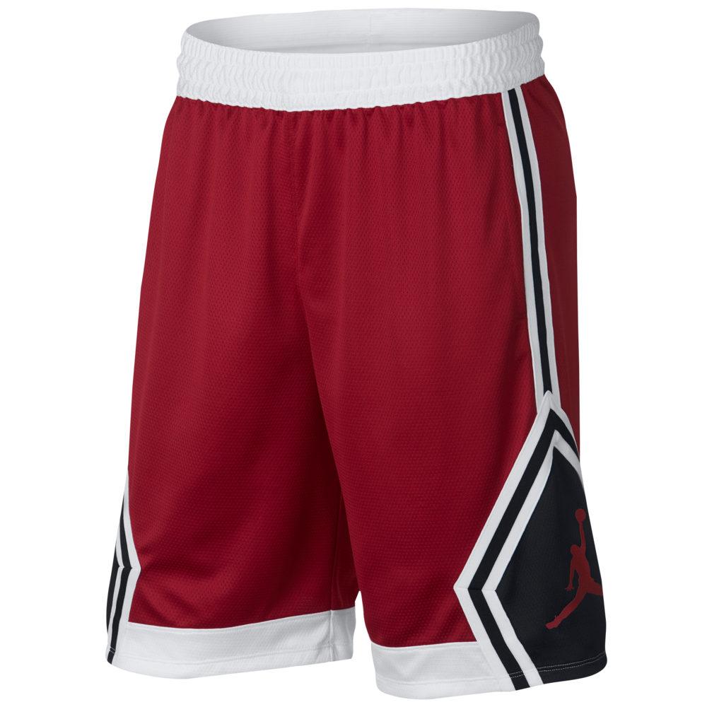 ナイキ ジョーダン Jordan メンズ バスケットボール ボトムス・パンツ【Rise Diamond Shorts】Gym Red/White/Black/Gym Red