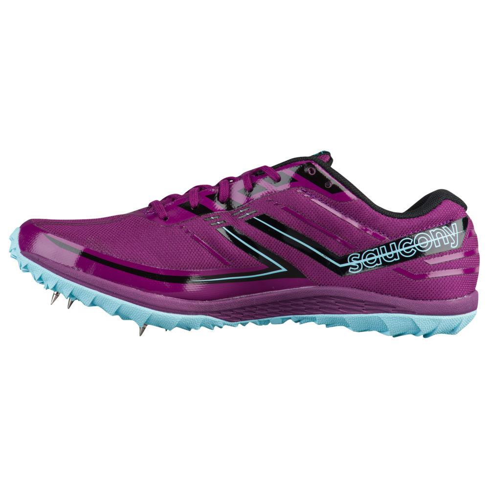 サッカニー Saucony レディース 陸上 シューズ・靴【Kilkenny XC7 Spike】Purple/Blue