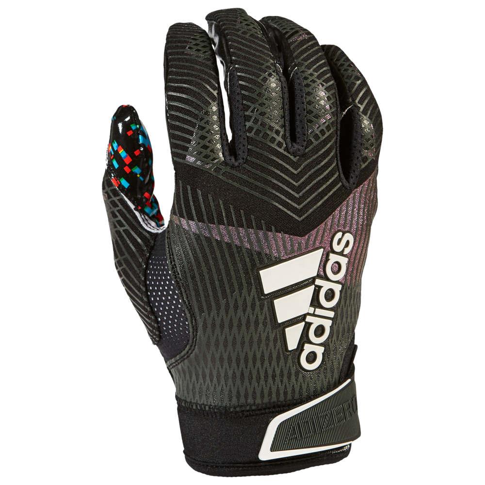 アディダス adidas メンズ アメリカンフットボール レシーバーグローブ グローブ【adizero 5-star 8.0 receiver glove】Black All American
