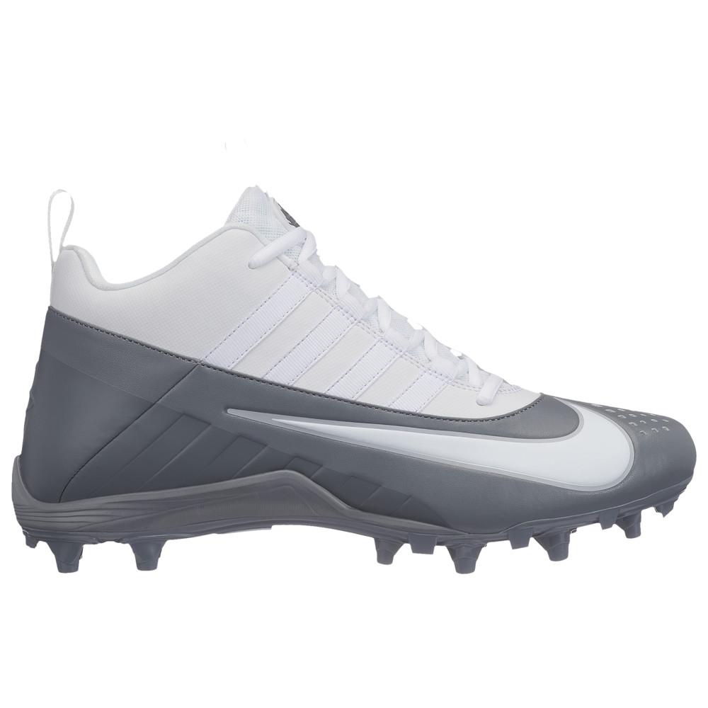 ナイキ Nike メンズ ラクロス シューズ・靴【alpha huarache 6 varsity lax】White/White/Cool Grey/Cool Grey
