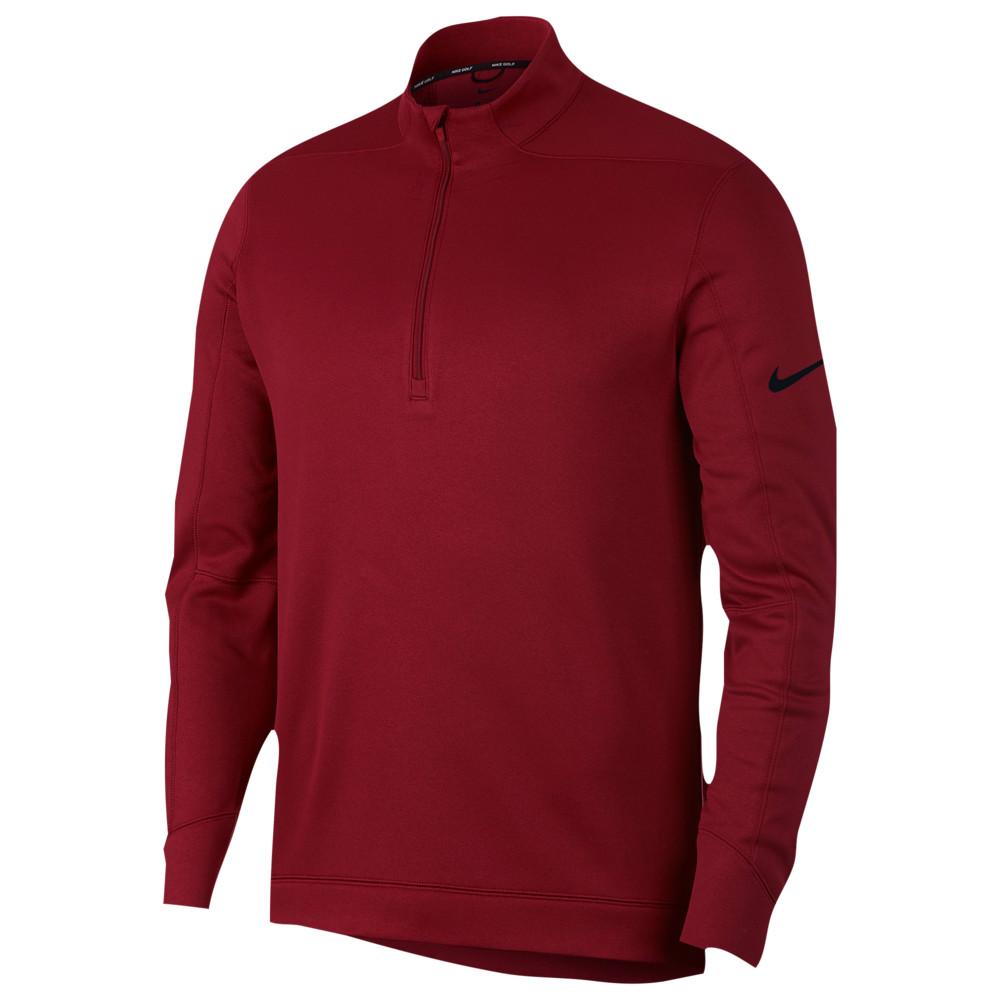 ナイキ Nike メンズ ゴルフ ハーフジップ トップス【therma repel 1/2 zip golf top】Team Crimson/Black