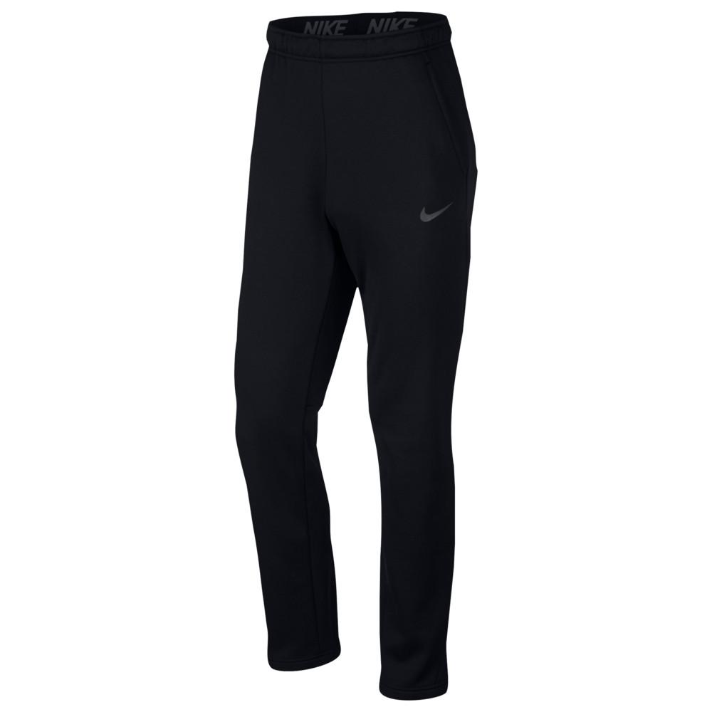ナイキ Nike メンズ フィットネス・トレーニング ボトムス・パンツ【therma pants】Black/Metallic Hematite