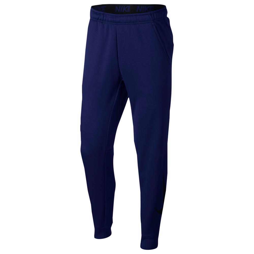 ナイキ Nike メンズ フィットネス・トレーニング テーパードパンツ ボトムス・パンツ【therma tapered pants】Blue Void/Black GFX